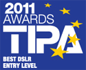 TIPA award - best DSLR entry level: EOS 600D