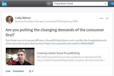 The Future of Publishing